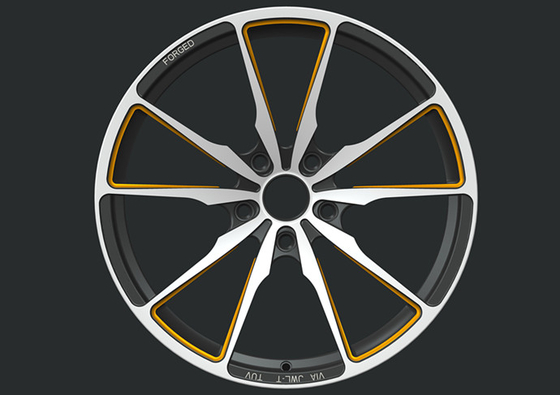 BA41 five spoke wheels Custom Monoblock Forged Wheels for BMW 5 series wheels