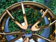 BFL22 Custom 20 inch chrome Gold rims for Mercedes Benz/The design of the forgiato wheels