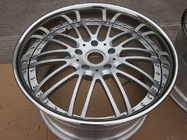 BFL26 3 piece forged wheels for porsche Panamera Anodized silver wheels design for vellano