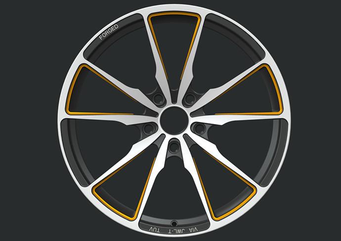 BA41 five spoke wheels Custom Monoblock Forged Wheels for BMW 5 series wheels