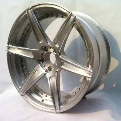 BBF12/6 spokes wheels/2 Piece Forged wheels for BMW X6/step lip/not finished/Adv1 design
