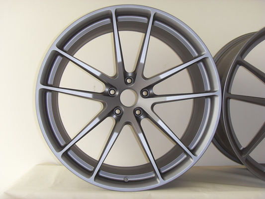BA37 22 Inch Aftermarket Wheels Custom Monoblock Forged Rims for Land Rover Gun Metal Painted