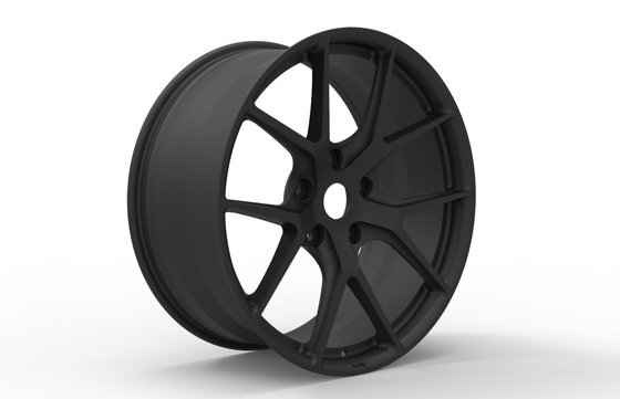 22 Inch Aftermarket Custom Forged Wheels for Lexus 570 Matte Black Painted